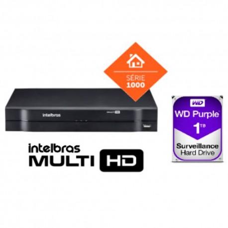DVR MULTI HD 16 CH MHDX 1116 C/ HD 1TB