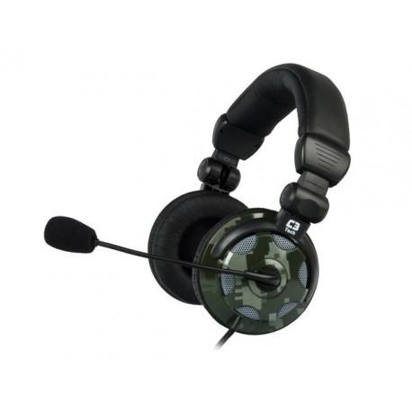 HEADPHONE C3TECH C/ MIC MI-2324RG/XCITE X-15